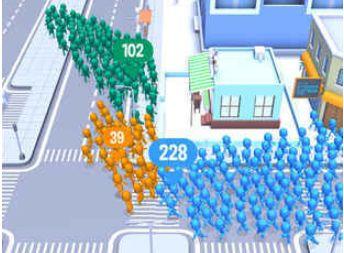 拥挤世界人数怎么快速增加 CrowdCity增加人数技巧!