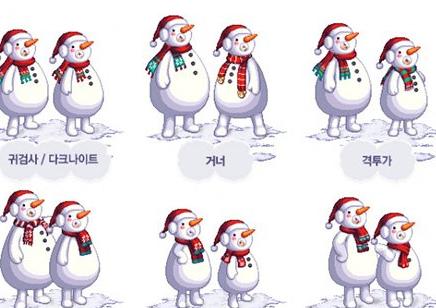 DNF历年节日小礼包对比 雪人套称得上第一