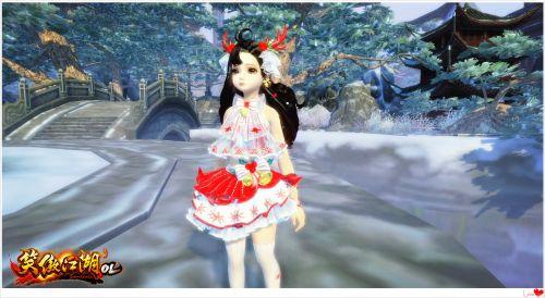 跨年快乐!《笑傲江湖OL》上架全新服饰和祝福烟花
