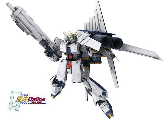 《机动战士敢达OL》新年新机,ν高达(HWS装备型)火力全开!