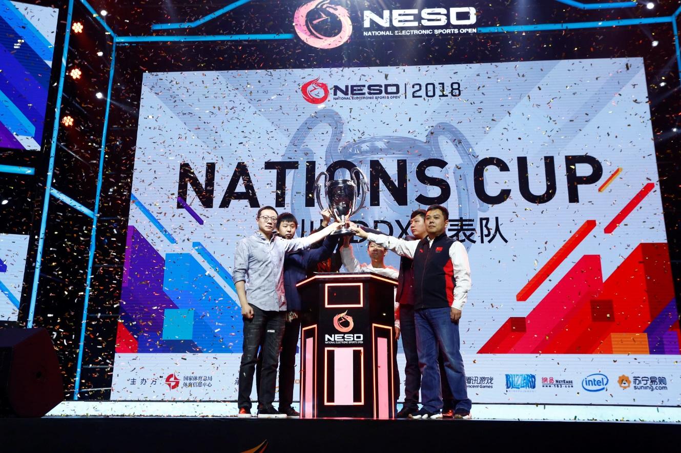 """NESO2018完美收官 四川CDDX代表队获得""""国家杯"""""""