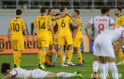 男足亚洲杯2019足球赛程小组赛:澳大利亚约旦晋级,今晚国足加油!