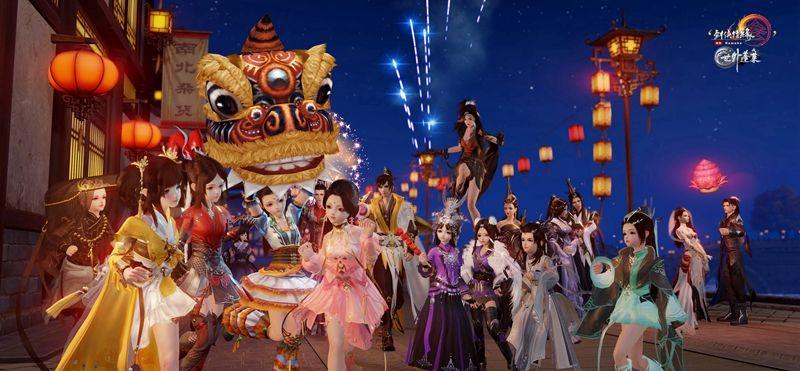 《剑网3》春节新版24日上线 猪年跟宠抢先看