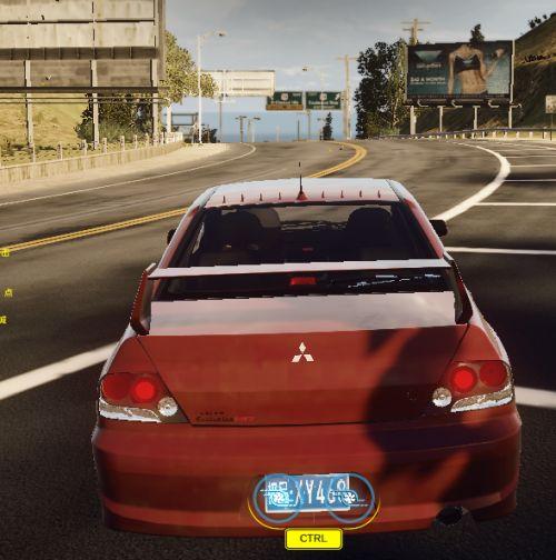 《极品飞车OL》蓝瑟翼豪陆神——三菱 Lancer Evolution IX