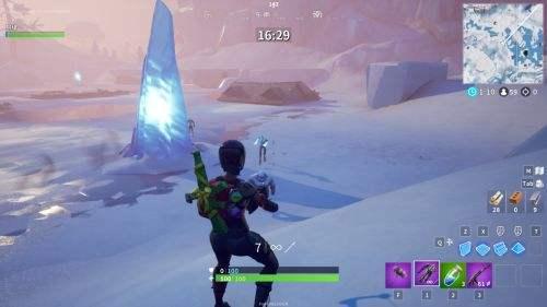 《堡垒之夜》冰风暴玩法上线 小心Dòng僵!