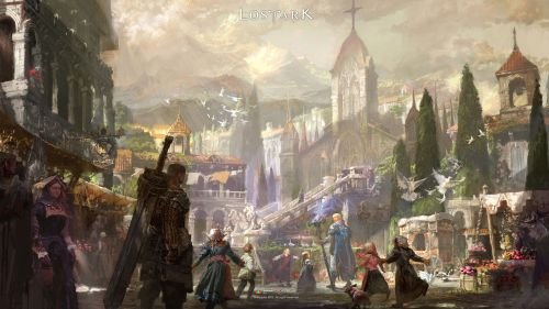 《失落的方舟》職業原畫及游戲場景壁紙欣賞