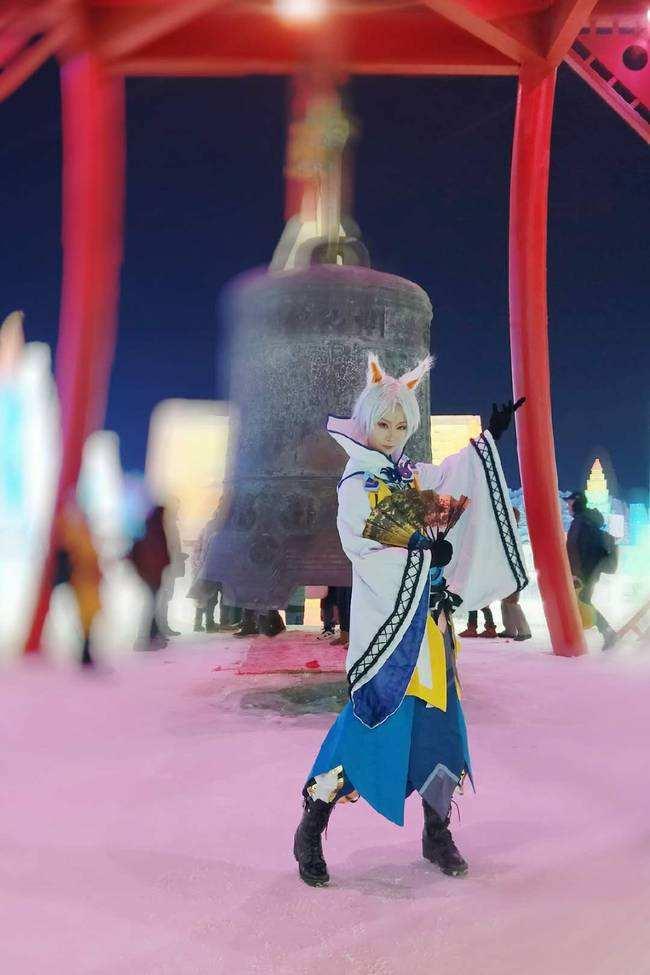 全城最佳二次元取景地 cosplay首选冰雪大世界