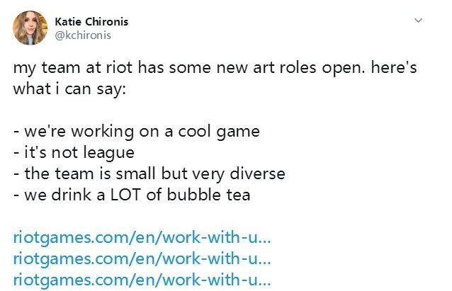 """LOL开发商将发布新作 设计师称新作""""很酷"""""""