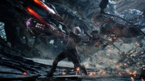 《鬼泣5》游戏壁纸截图欣赏 超酷战斗场面