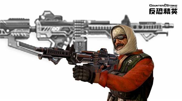 CSOL战场捍卫者登场  X系列首款机枪强悍来袭