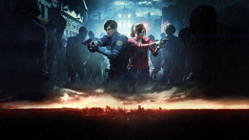 《生化危機2:重制版》精美游戲壁紙截圖