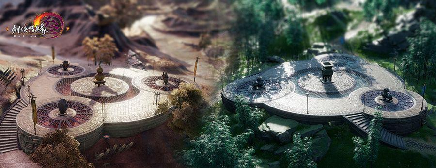 《剑网3》全新养生版3月7日开启 畅行秘境更护肝