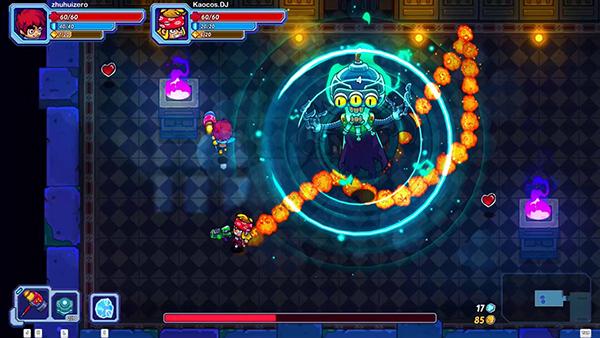 联机Roguelike游戏《元能失控》免费试玩即将开放!