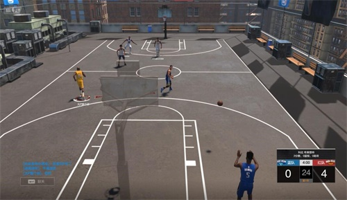 《NBA2KOL2》3月7日更新 街头模式全场3V3来了