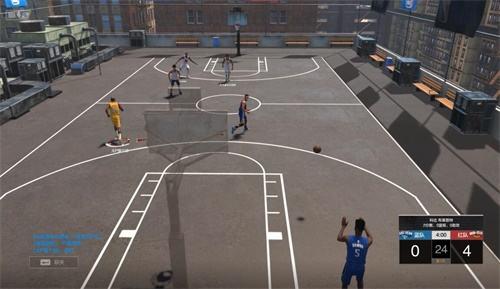 《NBA2KOL2》3月7日更新 街頭模式全場3V3來了