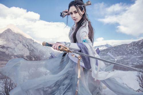 《剑网3》cos《纯阳·独立华山》欣赏