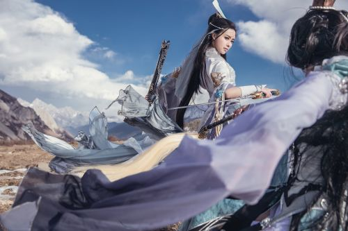 《劍網3》cos《純陽·獨立華山》欣賞