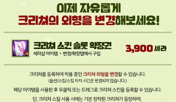 韩服上线宠物幻化栏扩展券 可更改宠物外观