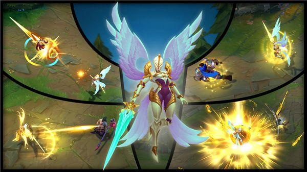 LOL正义天使&堕落天使重做上线 光与暗的交锋