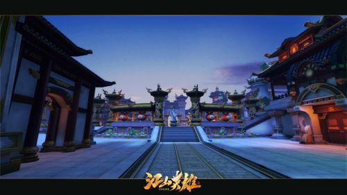 《江山英雄》倾国倾城新版新服预创建即将开启