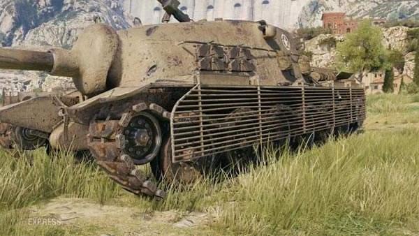 坦克世界美系VIII阶级反坦即将出售 TS-5数据一览