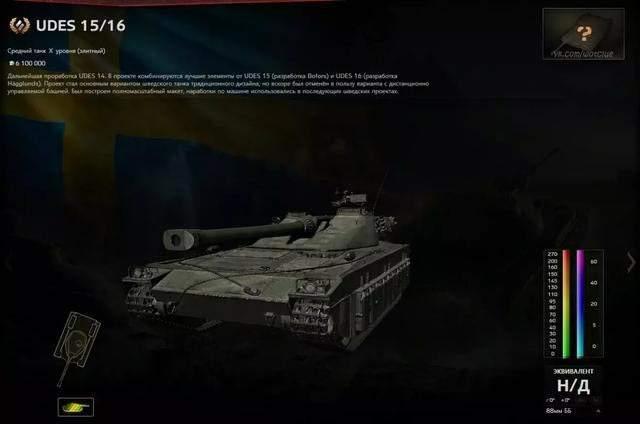 坦克世界超测服新瑞典中坦分支8-10阶车辆数据一览