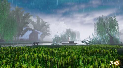 风吹雨洗,满城躲雨!《天下3》谷雨时节活动开启!