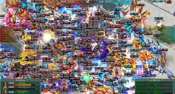 《征途2》4月黄金联赛预选赛激烈战况!