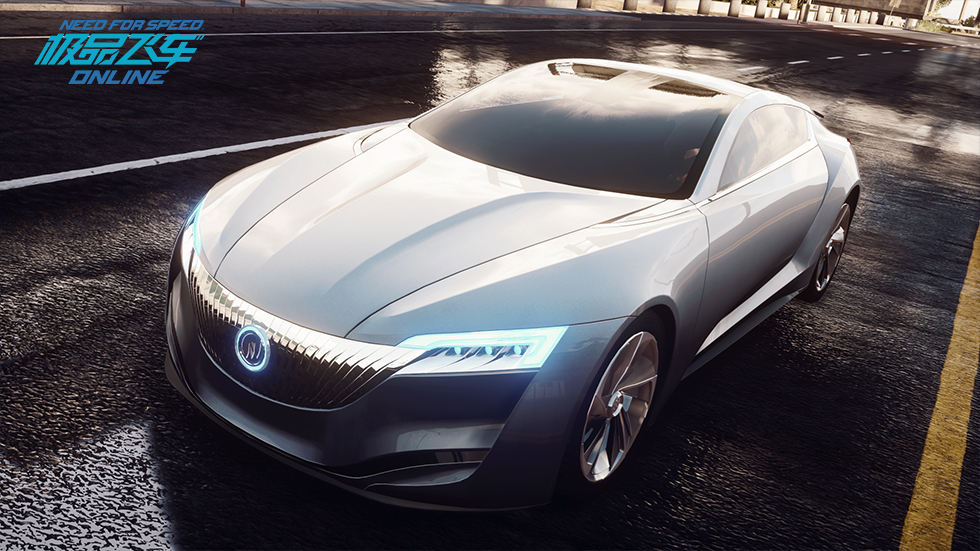 《極品飛車OL》科幻之光——別克 Riviera Concept 2013