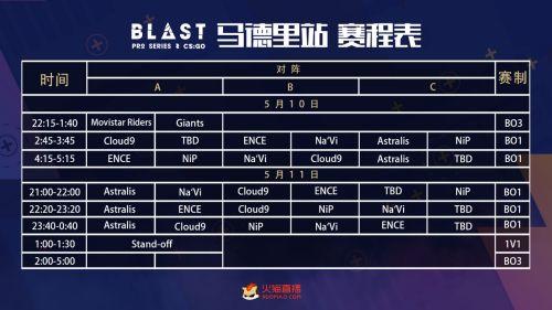 A队Na'Vi再聚首 火猫全程直播CSGO Blast马德里站