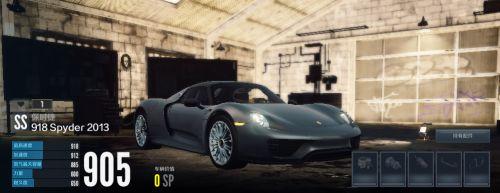 """《极品飞车OL》""""神车""""——保时捷 918 Spyder 2013"""