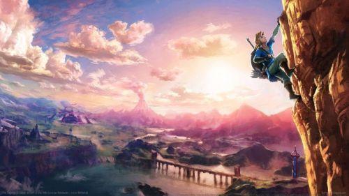 《塞尔达传说:荒野之息》游戏壁纸欣赏
