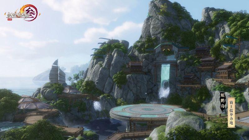 《剑网3》怒海争锋今日首测 全新地图曝光