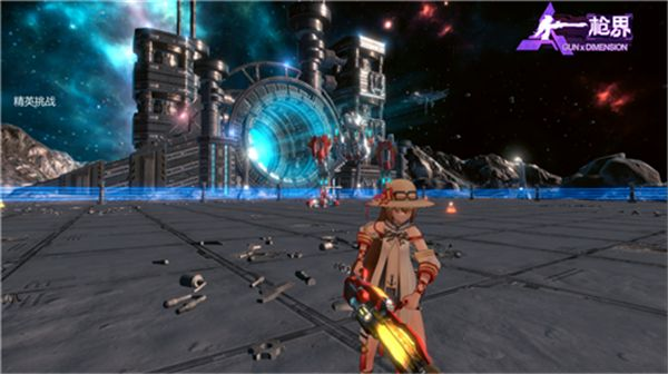 大型TPS吃鸡网游《枪界》领航二次元射击游戏领域