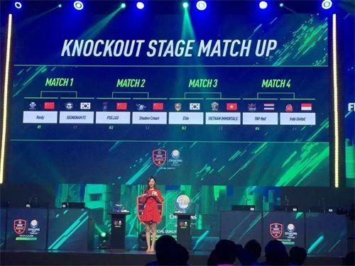 中国三强携手晋级EACC八强,FIFA ONLINE 4职业联赛最强战队闪耀亚洲赛场