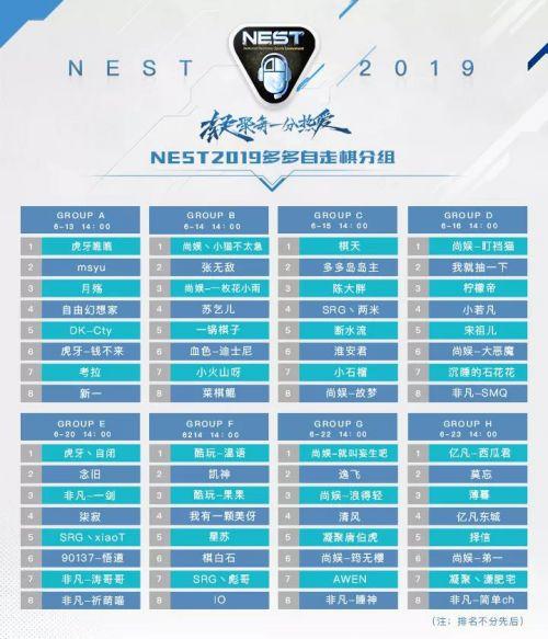 NEST2019《多多自走棋》项目赛事信息公布