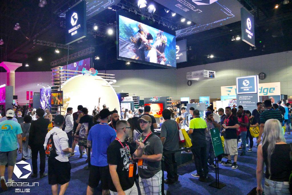 美国洛杉矶惊现中国风涂鸦 《剑网3》有爱玩家国外聚会