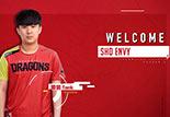 上海龍之隊公布新隊員Envy 巨龍覺醒