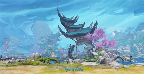 国风豪宅!《新倩女幽魂》全新妖灵城家园曝光!