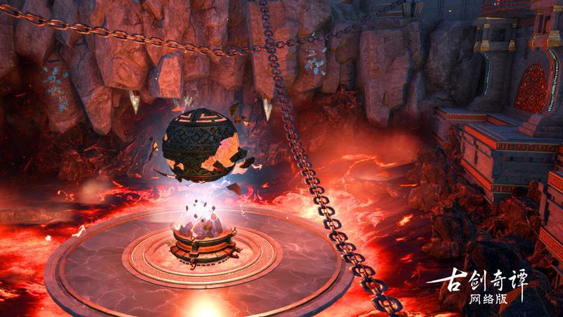 《古剑奇谭网络版》超燃珑瑛宣传片曝光,半人半石的修行者