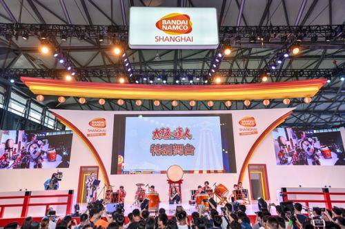 玩转未来,万代南梦宫(上海)互动娱乐有限公司确?#21916;握?019ChinaJoyBTOC!