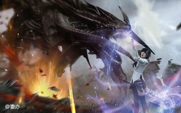 《洛奇英雄传》玩家Cos艾莉莎 铁娘子才是真浪漫