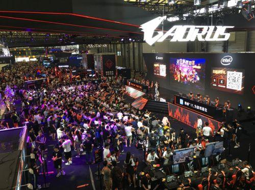 AORUS技嘉将在2019ChinaJoyBTOC展区再续精彩!天生擂主由你来做主!