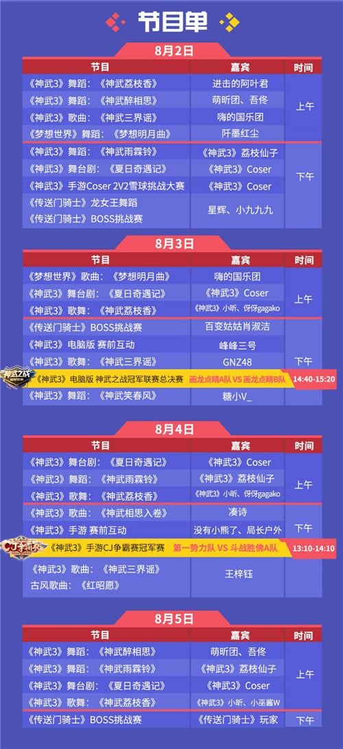 GNZ48、王梓钰领衔 多益网络豪华嘉宾阵容与你相约2019ChinaJoy