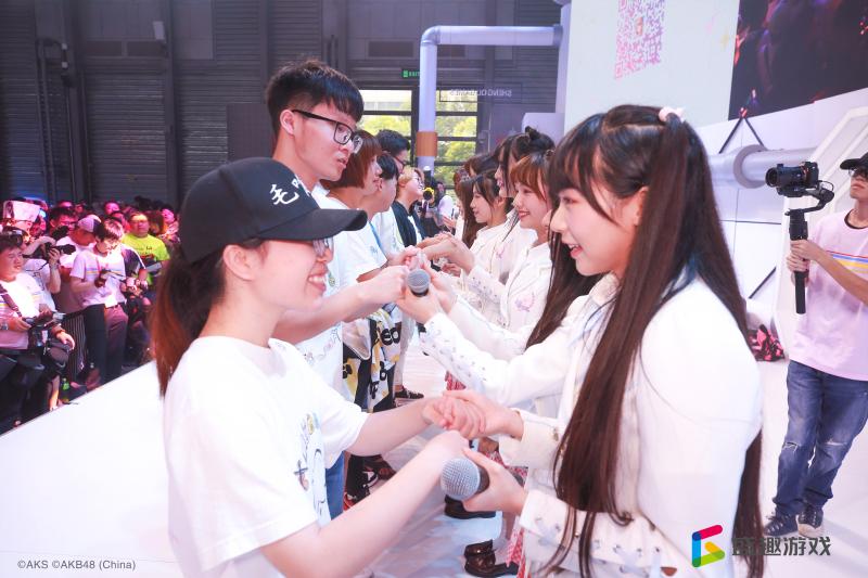 为idol应援打call 盛趣游戏ChinaJoy现场引爆粉丝热潮