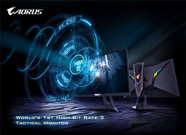搭载HBR3战术型电竞显示器AORUS FI27Q-P强势退场!