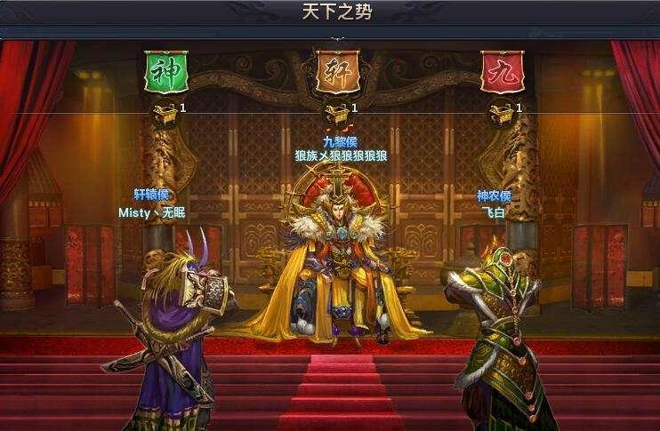 国战哪家强,《权御天下》新服海神殿战况一览