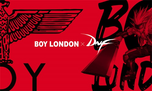阿拉德时尚新风潮 DNF与Boy London联名款即将上线