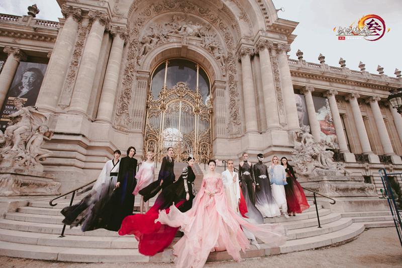《剑网3》门派高定走向国际 巴黎时装周精彩回顾