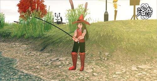 《洛奇》秋風起 魚兒肥 扛起魚竿去釣魚